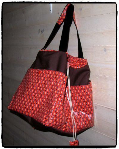 SAC WEEK END ORANGE PETIT PAN 3