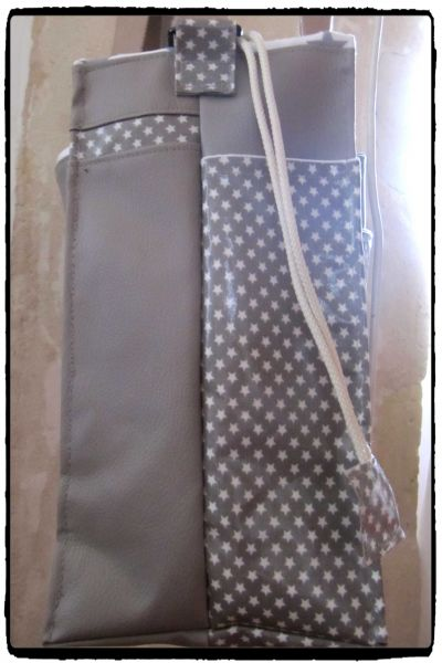 SAC A LANGER ETOILE ET TAUPE 1